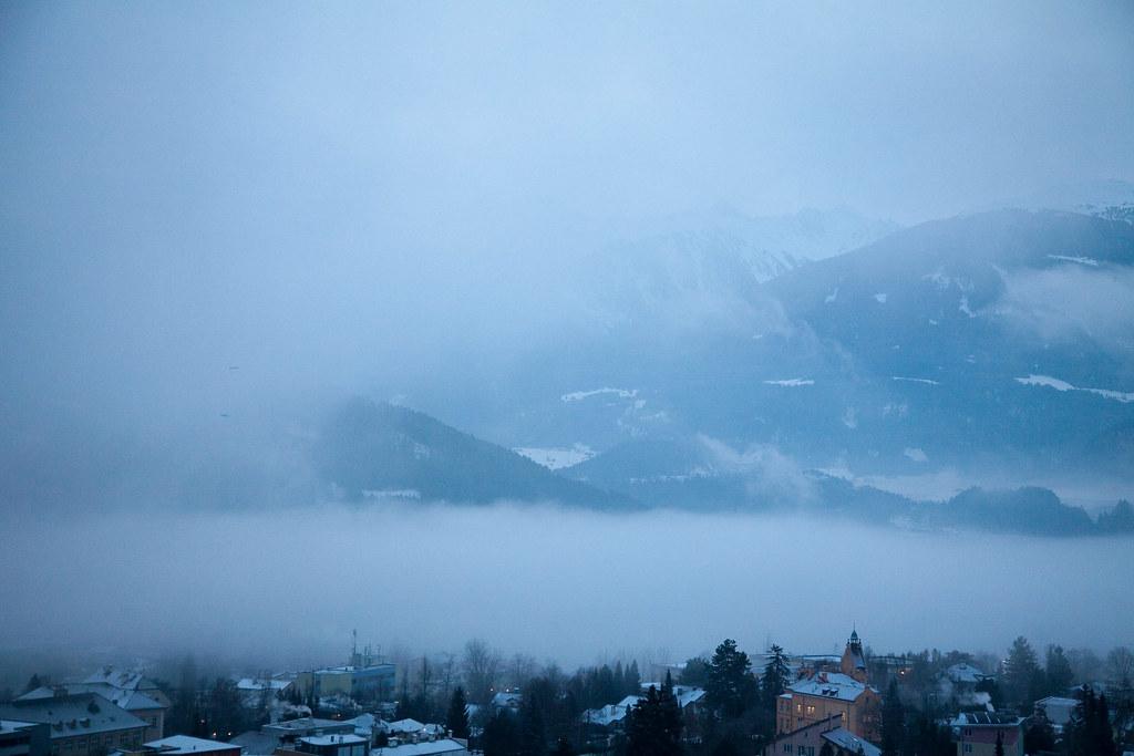 The Alps Sunrise Oil Painting Landscape