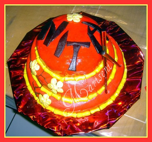 Cake Art N R Colony : Asian Inspired Bamboo Birthday Cake Marshmallow fondant ...