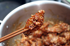 crispy Korean chicken wings | by David Lebovitz