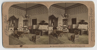 Mrs. Harrison's Bedroom, President's Mansion, Washington, D.C. | by Cornell University Library