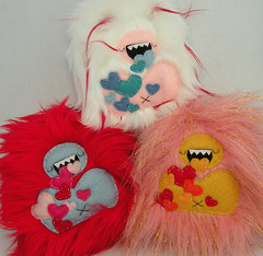 3 Love yetis | by loveandasandwich