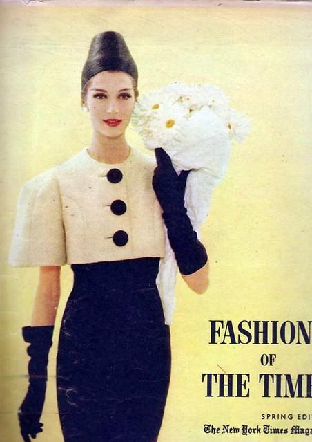 N Y Times Fashion Magazine March 1959 Vintage Fashion Mag Flickr