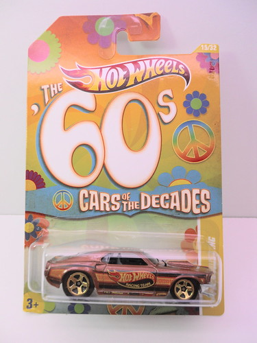 hot wheels cars of the decades 1969 ford mustang (1) | by jadafiend