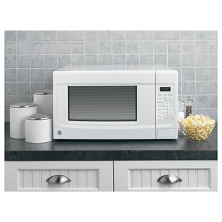 GE JES1460DSWW 1.4 Cu. Ft. White Countertop Microwave | by Goedeker's