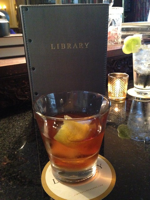 """Willie Morris: Old Fashioned"" at Library Lounge at Fairview Inn, Jackson MS"