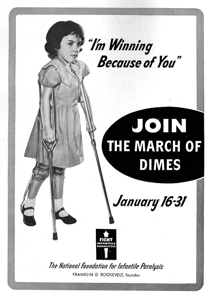 Franklin Roosevelt founds March of Dimes