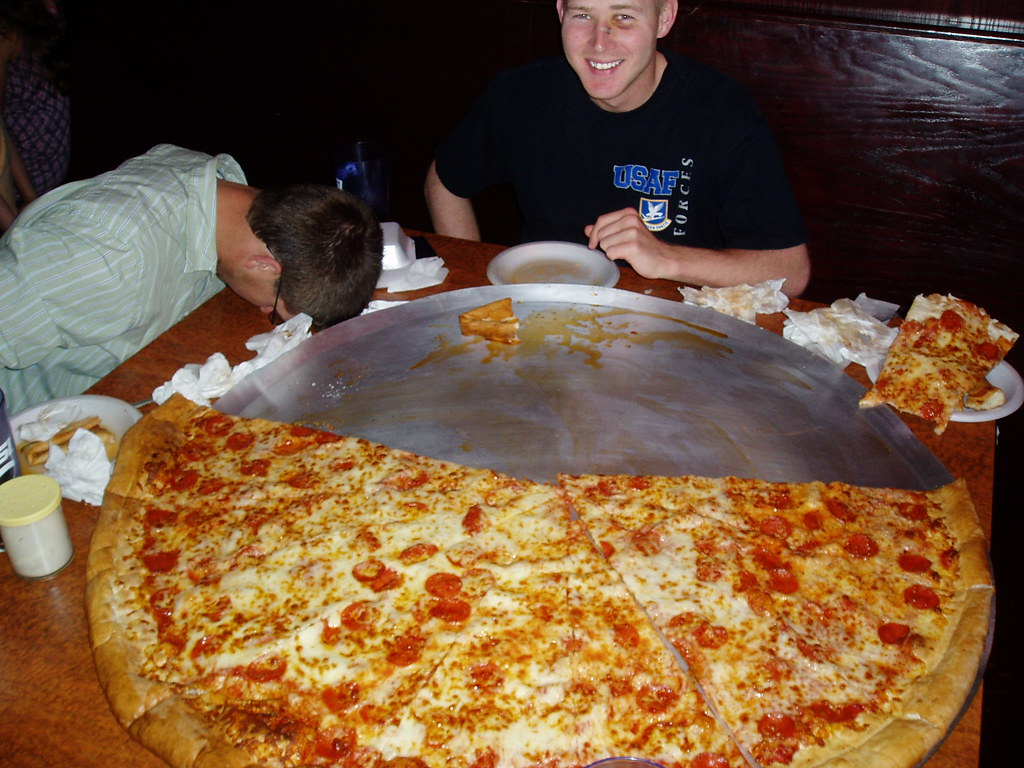 Big Lou S 42 Inch Pizza This Is Me Delaney And Watkins