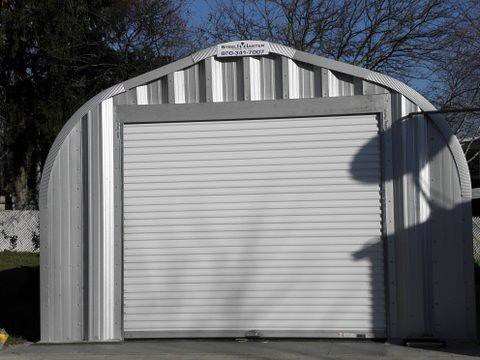 garages with steel types kits metal buildings prefab building garage kit exterior brick