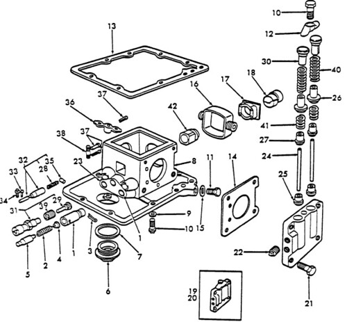 3910 ford tractor part diagram