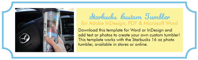 Starbucks custom tumbler template download the template for Starbucks personalized tumbler template