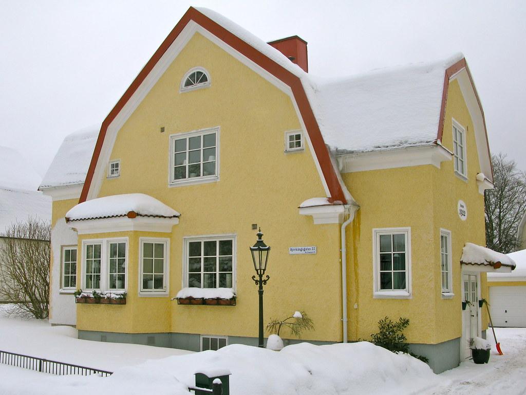 Bor S Yellow Houses I Built 1922 Bor S V Sterg Tland