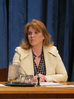 Sarah Fergusson, Duchess of York, at the UN | by Norway UN (New York)