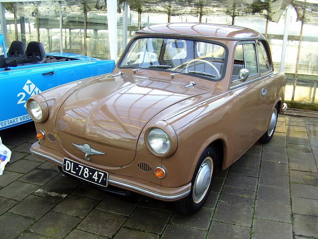 1959 Trabant P50 Eastern European Vehicles Day Aalsmeer