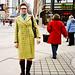 Neon Vintage Coat, Toronto Street Fahion @ Spadina Ave., Toronto