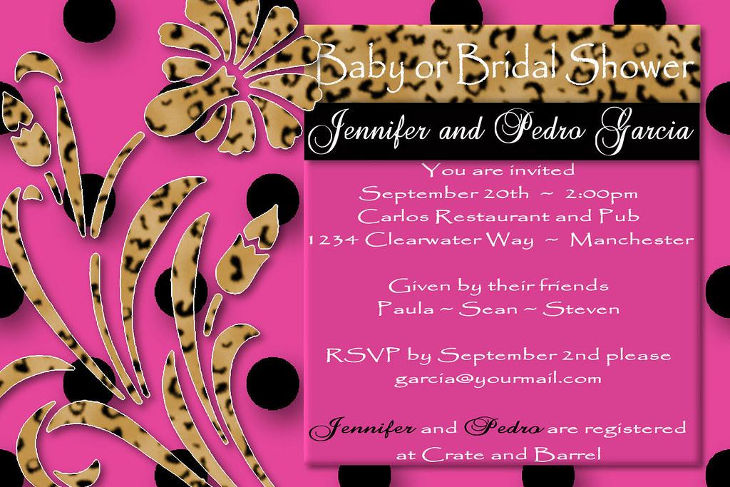 D#11, pink, black, leopard, flower,custom, personalized, b… | Flickr