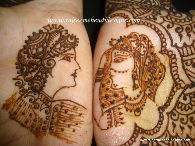 Jaipuri Bridal Mehndi Designs : Aarthis bridal henna front hand closeup this time i