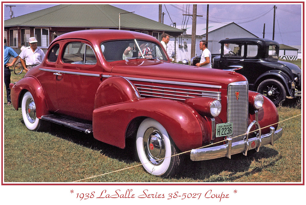 1938 LaSalle  I photographed this car in July 1970 and ha  Flickr
