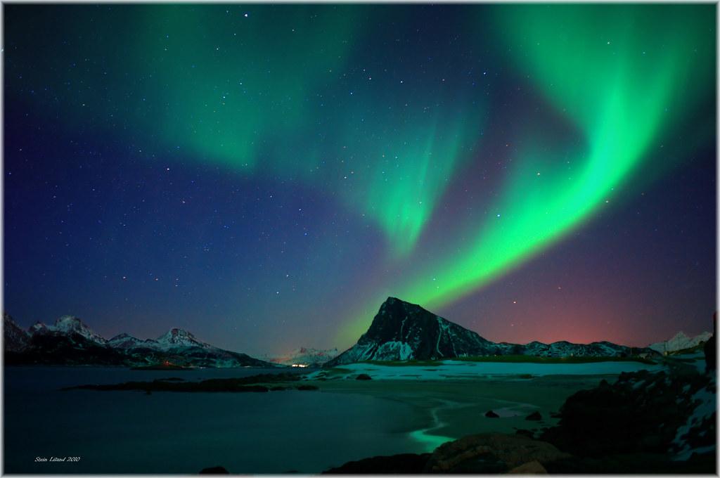 Country Of Elves Aurora B The Aurora Borealis Or