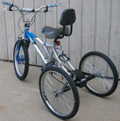 Bikes To Trikes Conversion Kits TrikeZilla Bike Trike