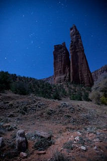Spider Rock, Navajo Nation | by The Midnight Writer
