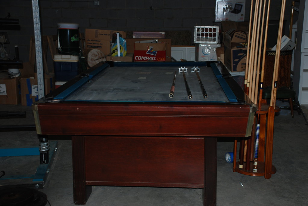 Brunwick Sherwood Slate Pool Table Brunswick Sh Flickr - Brunswick sherwood pool table