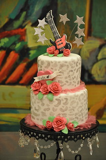 Rock Star Birthday CAke | by Designer Cakes By April