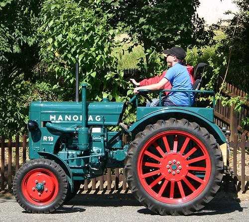 Hanomag tractor traktor werner kast flickr