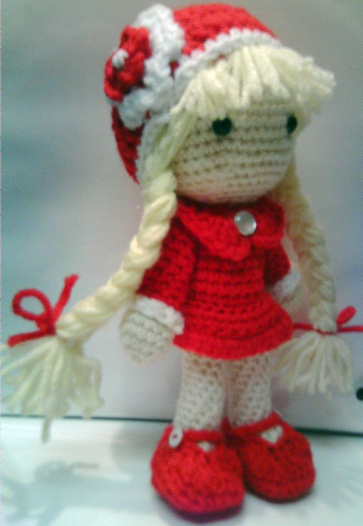 Amigurumi Curly Doll : Crochet doll quot pricilla amigurumi by curly girl