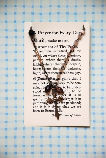 Bead Cross Necklace Craft