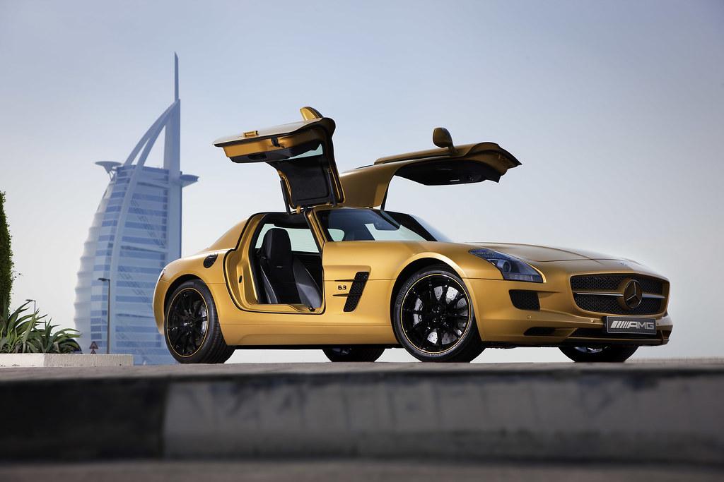 Mercedes-Benz SLS AMG Dubai