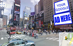 Photo Illustration - Virtual Product Placement in Google Street View | by Si1very