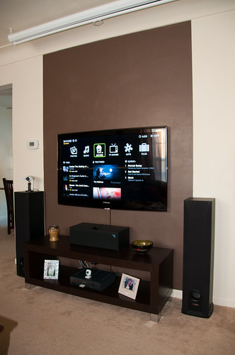 Tv Room Accent Wall