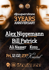DjSuperStore 3 years anniversary | by Alex Tass