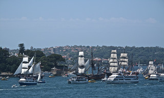 The Australia Day Tall Ship Race | by halloleo