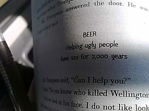 Necessary Beer helping ugly people have sex opinion, actual