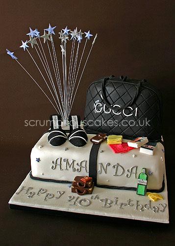 Birthday Cake (596) - Gucci Bag & Jimmy Choo Shoes | Flickr