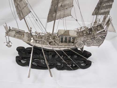 23-1-A, Model, Ship, Chinese | by Naval History & Heritage Command