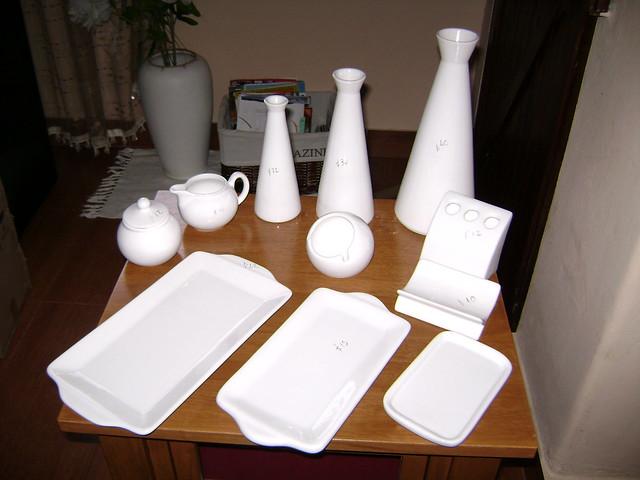 Piezas de cer mica blanca para pintar azucarera 10cms for Ceramicas para piezas