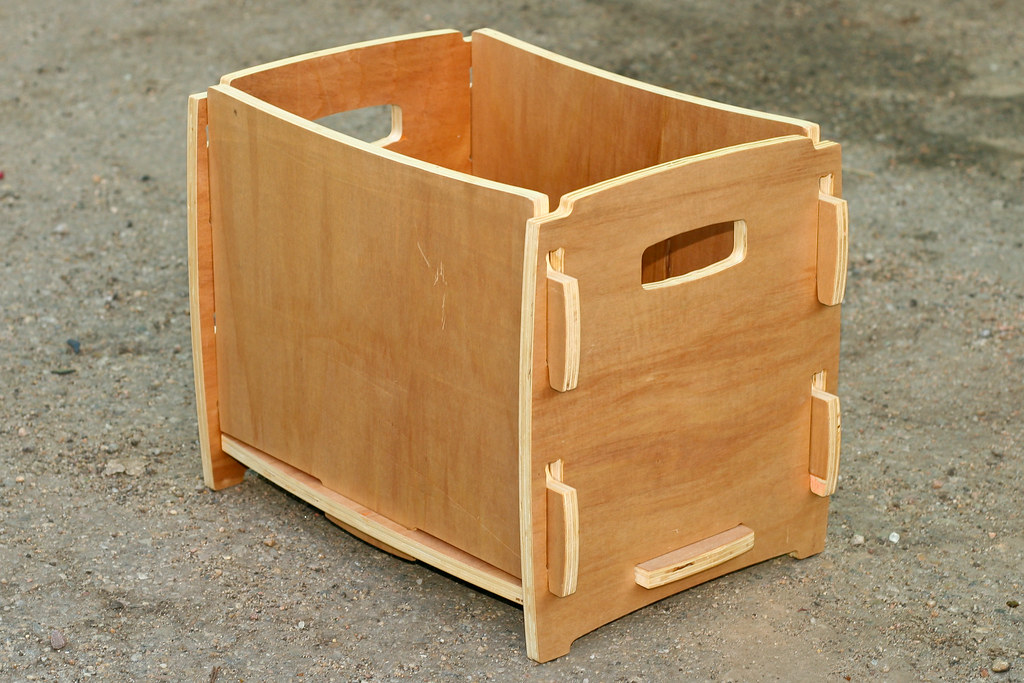 Plywood CNC Box | Made from discount Agathis plywood (I'm ...