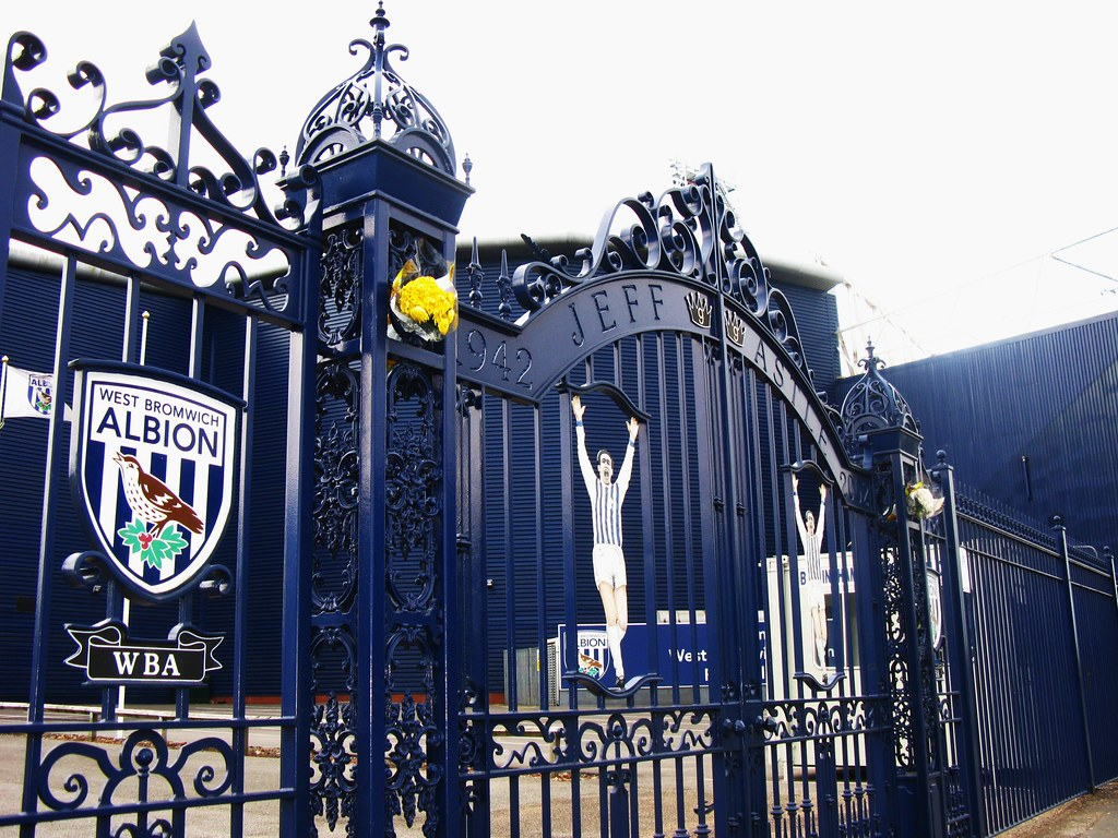 Jeff Astle Memorial Gates, The Hawthorns, West Bromwich Al