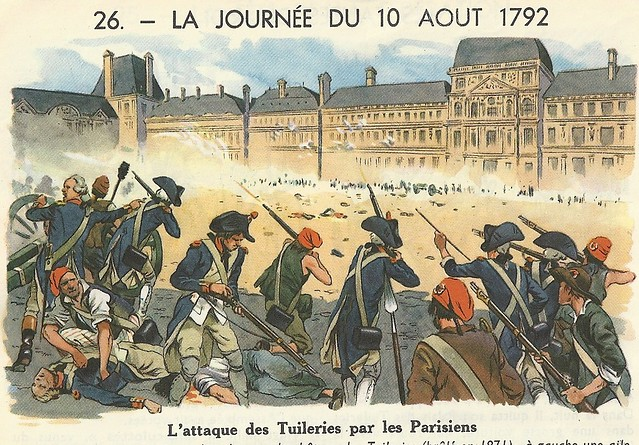 La journ e du 10 ao t 1792 l 39 attaque des tuileries par l - Comptoir des tuileries cours de l or ...
