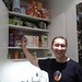Pascal and the Mozilla Paris office treat cupboard