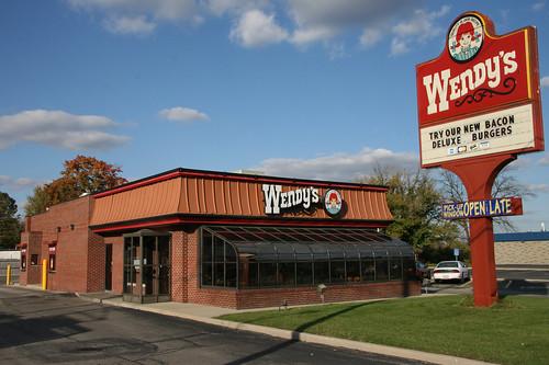 New Wendy S Restaurant