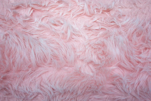 Pink Shag Fluffy Soft Furry Texture Background Tricia