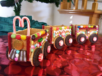 Holiday Cookie Train | vegspinz.blogspot.com/2009/12/happy ...