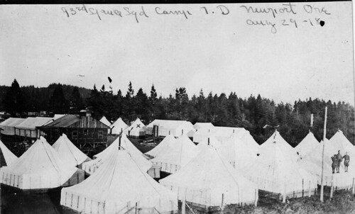 93rd Spruce Squadron, Camp 7.D, Newport, Oregon