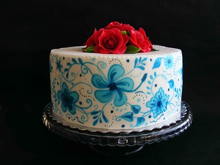 red roses cake | by bubolinkata