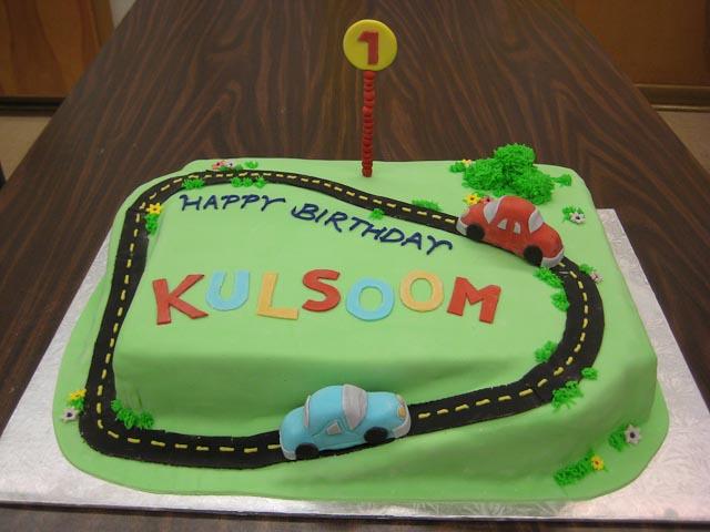 Carthemed first birthday cake Caralin Ruth Flickr