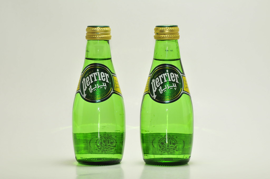 Naturally Carbonated Spring Water