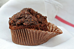 german chocolate cupcake | by David Lebovitz